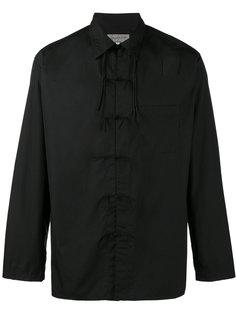 рубашка с завязками на бант Yohji Yamamoto