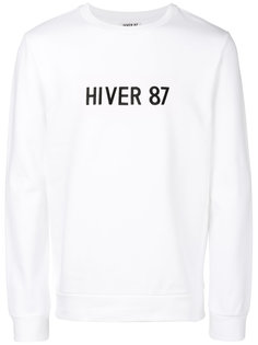 slogan print sweatshirt A.P.C.