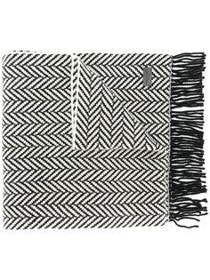 шарф крупной вязки Saint Laurent