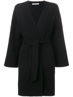 свободное пальто с глубоким V-образным вырезом  Barena