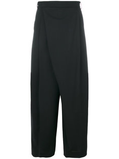 свободные брюки асимметричного кроя McQ Alexander McQueen