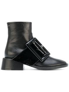 ботинки по щиколотку с объемной пряжкой Mm6 Maison Margiela