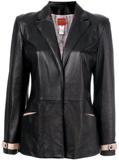 куртка с V-образным вырезом Kenzo Vintage
