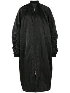 long bomber jacket D.Gnak