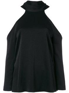 sash neck longsleeved tunic Galvan