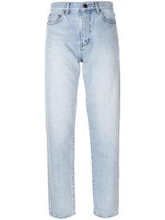 прямые джинсы  Saint Laurent