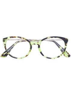 очки с круглой оправой Dolce & Gabbana Eyewear
