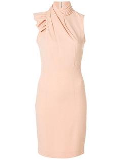 платье с воротником-шалькой Dsquared2
