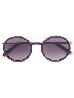 солнцезащитные очки в круглой оправе Max Mara