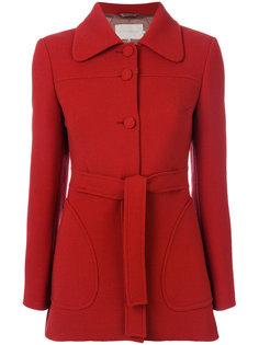 приталенное пальто с поясом  LAutre Chose