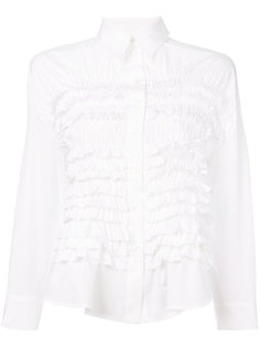 присборенная рубашка  Simone Rocha