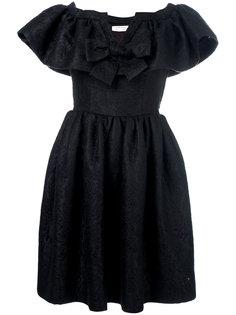 платье с открытыми плечами Yves Saint Laurent Vintage
