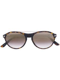 солнцезащитные очки с круглой оправой Tom Ford Eyewear