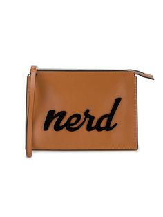 кожаный клатч Nerd Les Petits Joueurs
