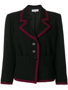 пиджак с контрастной окантовкой Yves Saint Laurent Vintage