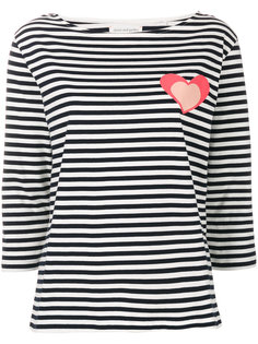 Heart striped top Chinti And Parker