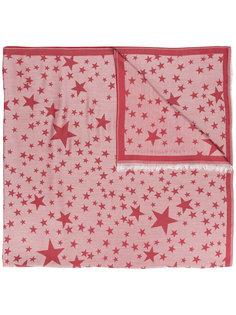 шарф с принтом со звездами Stella McCartney