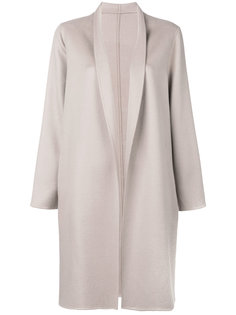 пальто с лацканами-шалькой Liska