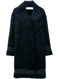 textured midi coat Victoria Victoria Beckham