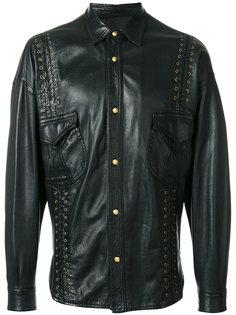 куртка со шнуровкой Versace Vintage