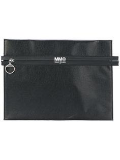 клатч с застежкой-молнией Mm6 Maison Margiela