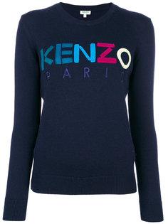джемпер с логотипом  Kenzo