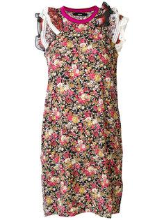 платье с цветочным принтом  Diesel