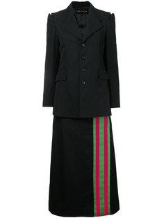 пиджак с полосатой окантовкой Comme Des Garçons Vintage