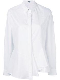 асимметричная рубашка со складками   Kenzo