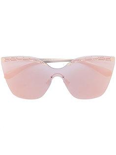 солнцезащитные очки с затемненными линзами Bulgari