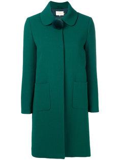 пальто с помпоном на воротнике  LAutre Chose