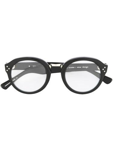 очки с круглой оправой N. Hoolywood