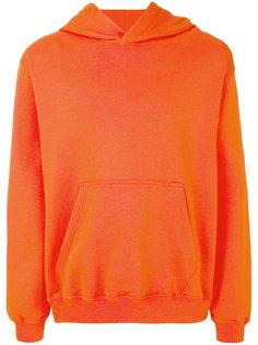 printed hood sweatshirt MSGM