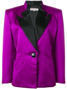 пиджак с контрастными лацканами Yves Saint Laurent Vintage
