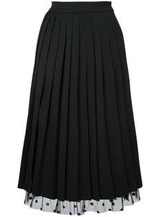 юбка с узором в горох Muveil
