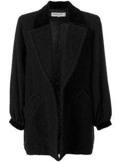 открытое пальто Yves Saint Laurent Vintage