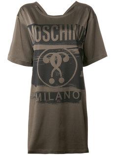 платье-футболка с вопросительным знаком  Moschino