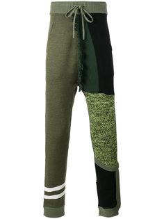 спортивные брюки в стиле колор блок Liam Hodges
