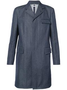 пальто с тремя карманами Thom Browne