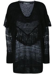свитер с оборкой  Stella McCartney