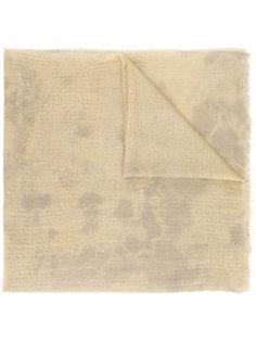 шарф с необработанными краями Suzusan