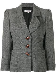 однобортный пиджак Yves Saint Laurent Vintage