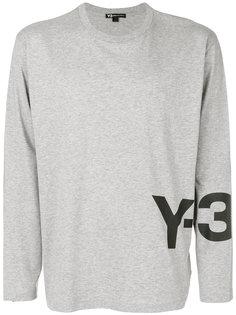logo print T-shirt Y-3