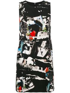 платье мини с принтом  Versus