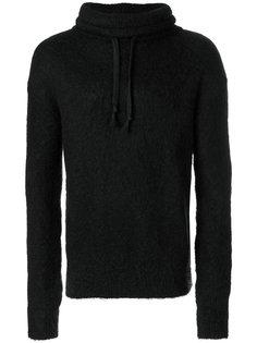 fitted hooded sweatshirt Saint Laurent