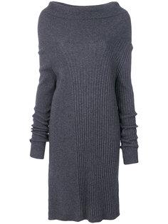 платье с воротником-хомут  Twin-Set