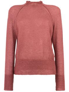 свитер с необработанным краем  Forte Forte