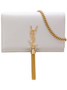 маленькая сумка-сэтчел с кисточкой Kate  Saint Laurent