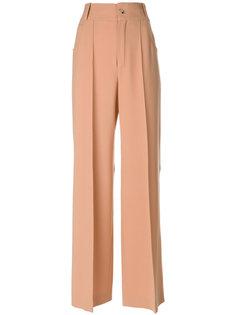строгие брюки-палаццо Chloé