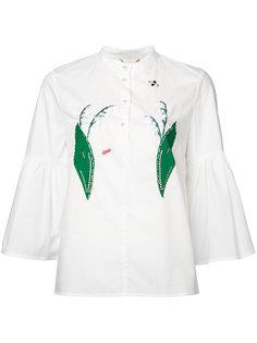 блузка с аппликацией ландышей Muveil